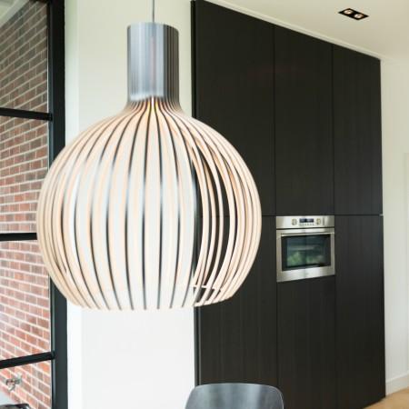 LEEM Wonen herenhuis Groenlo keuken lamp Secto Design Octo Ontwerpgeheimen