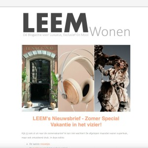 LEEMs Nieuwsbrief - Zomer Special 2016