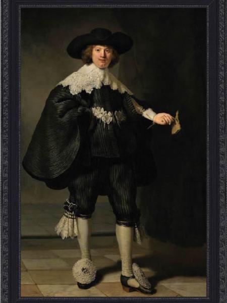 Marten Soolmans by Rembrandt van Rijn