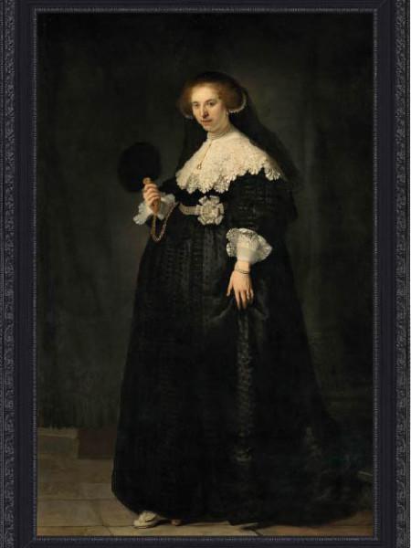 Oopjen Coppit by Rembrandt van Rijn
