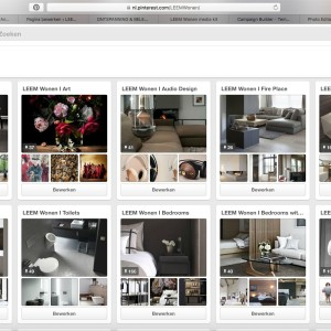 Pinterest Pagina LEEM Wonen