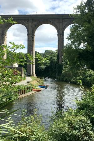 LEEM Wonen Bretagne Dinan viaduct bridge