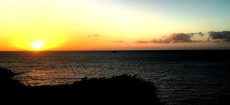LEEM Wonen Bretagne view sunset zonsondergang