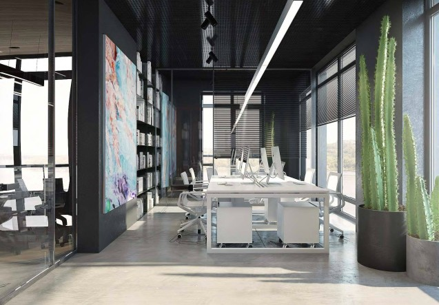 LEEM Wonen Yodezeen home office room