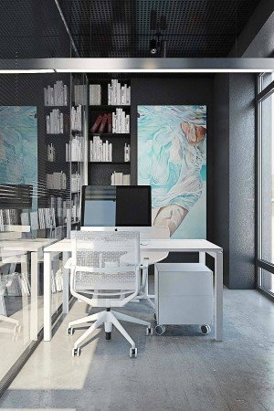 LEEM Wonen Yodezeen home office white
