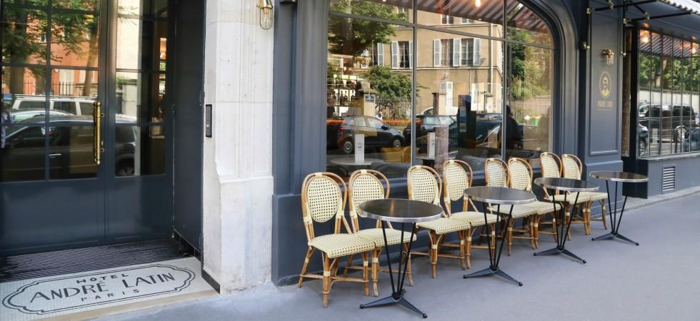 LEEM Wonen hotel in Parijs Andre Latin terrace