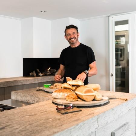 LEEM Wonen keuken Jeroen Bos Design broodplank