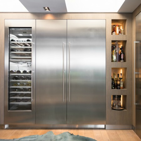 LEEM Wonen keuken Jeroen Bos Design wijnkast