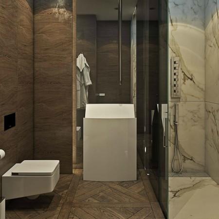 LEEM Wonen chic appartement badkamer