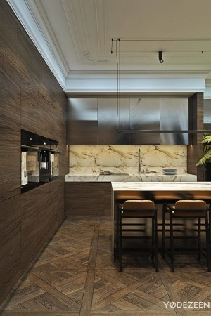 LEEM Wonen chic appartement keuken