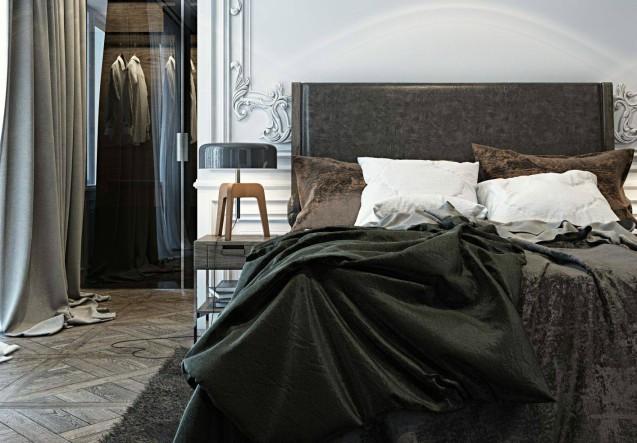 LEEM Wonen chic appartement slaapkamer