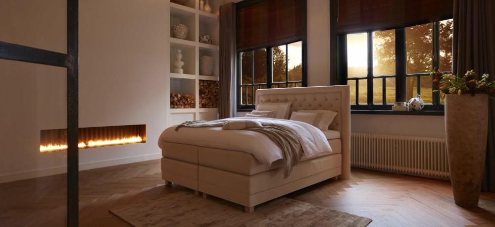 LEEM Wonen luxe bedden Diks Bedmakers Cellini Basis