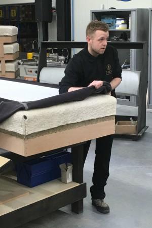 LEEM Wonen luxe bedden Diks Bedmakers fabriek 3