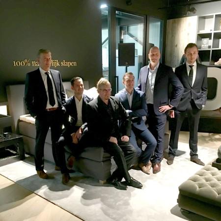 LEEM Wonen luxe bedden Diks Bedmakers familie