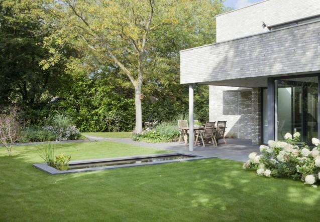 LEEM Wonen moderne villa Remy Meijers tuin