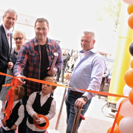 LEEM Wonen stucwerk Frits Kool opening