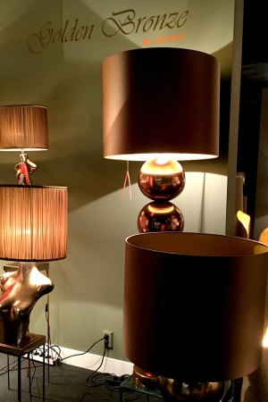 LEEM Wonen verlichting Stout Golden Bronze
