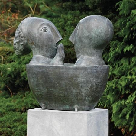 LEEM Wonen beeldhouwwerk Odile Kinart art