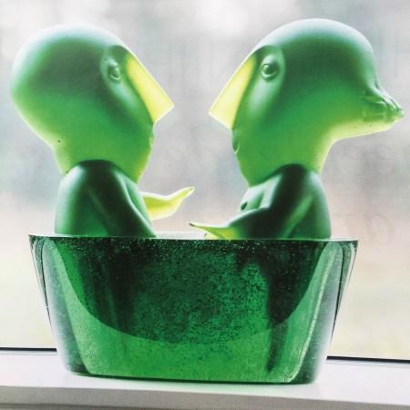 LEEM Wonen beeldhouwwerk Odile Kinart bathing