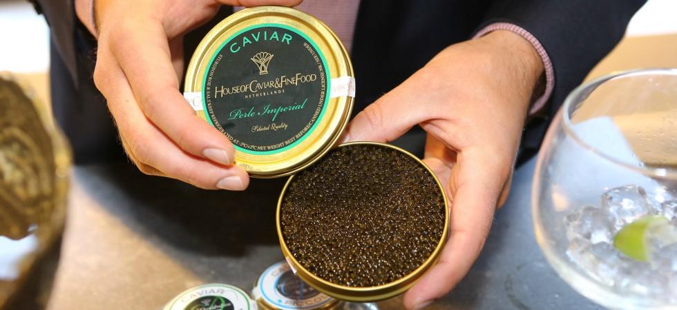 LEEM Woen lifestyle event SieMatic caviar