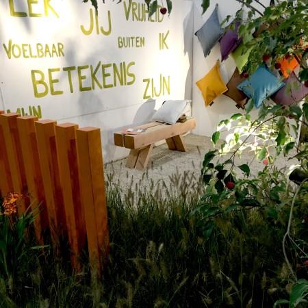 LEEM Wonen mooiste stands Beurs Eigen Huis najaar 2016 Droomtuin 1