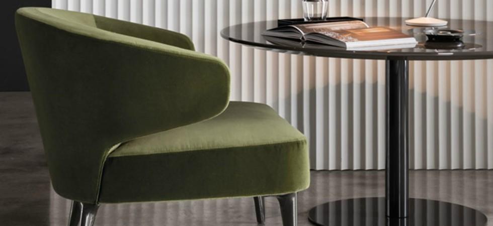 LEEM Wonen wild forest Noort Interieur Minotti lounge chair Aston