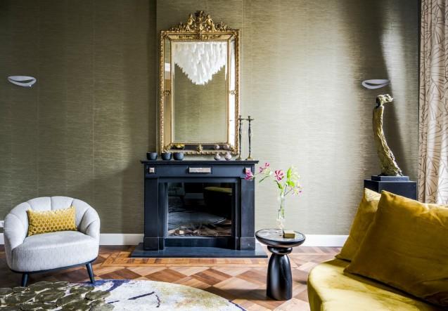 LEEM Wonen Roelfien Vos Interior Designer fire place
