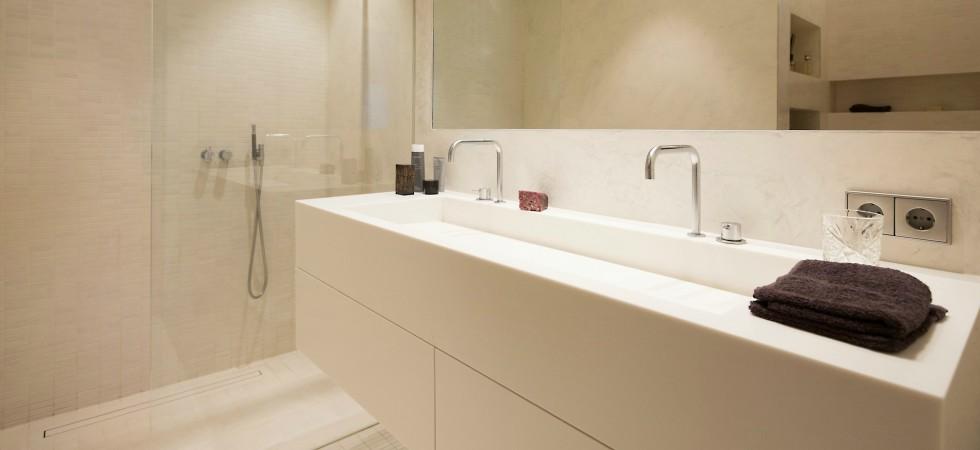 LEEM Wonen loft Amsterdam badkamer