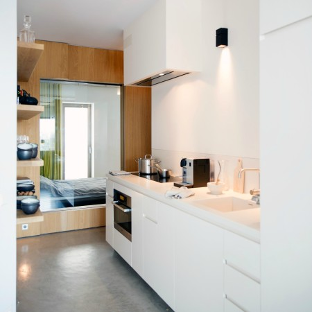 LEEM Wonen loft Amsterdam keuken