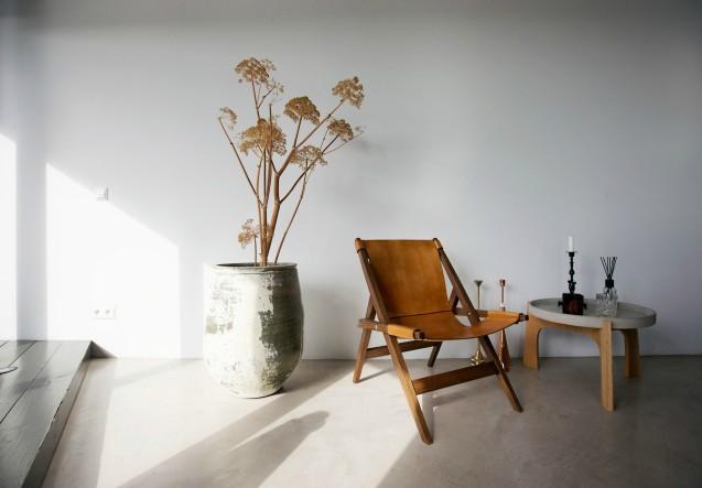 LEEM Wonen loft Amsterdam stoel
