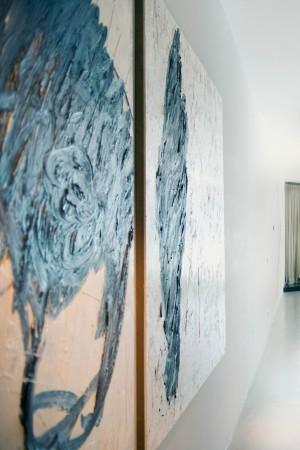 LEEM Wonen loft Amsterdam schilderij