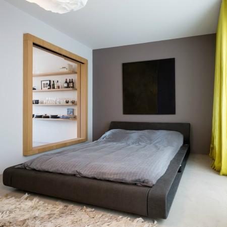 LEEM Wonen loft Amsterdam slaapkamer