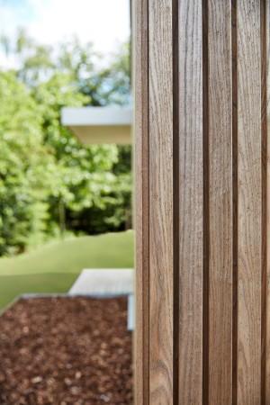 LEEM Wonen gastenverblijf Carpentier hout