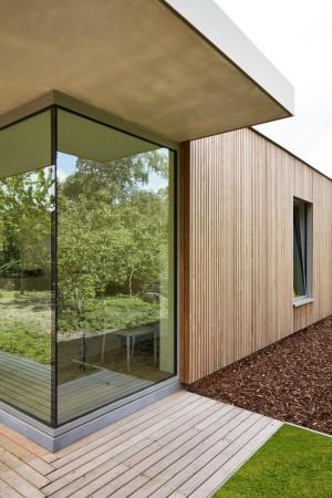 LEEM Wonen gastenverblijf Carpentier wood