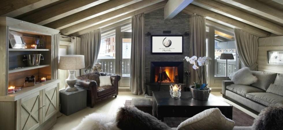 LEEM Wonen wintersport Val d'Isère White Pearl livingroom