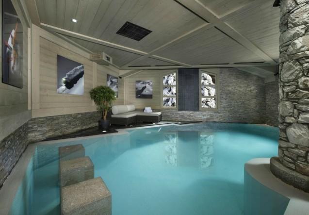 LEEM Wonen wintersport Val d'Isère White Pearl pool