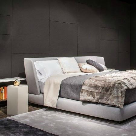 LEEM Wonen Italiaans design IMM Cologne 2017 Minotti bed