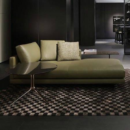 LEEM Wonen Italiaans design IMM Cologne 2017 Poliform chaise longue