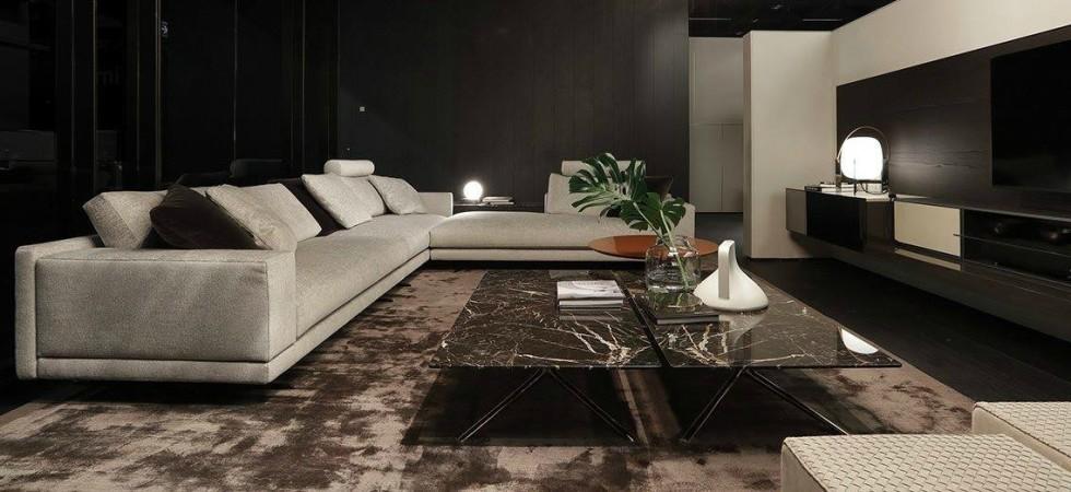 LEEM Wonen Italiaans design IMM Cologne 2017 Poliform lounge
