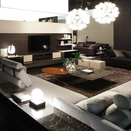 LEEM Wonen Italiaans design IMM Cologne 2017 Poliform salon