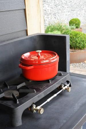 LEEM Wonen buitenkeuken HaWé Outdoor gasbrander