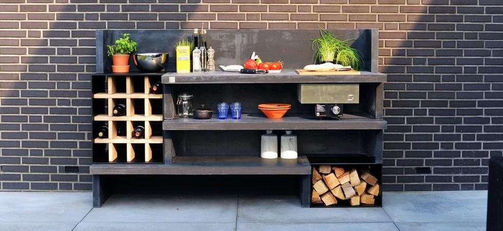 LEEM Wonen buitenkeuken HaWé Outdoor outdoor kitchen