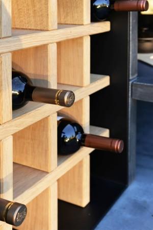 LEEM Wonen buitenkeuken HaWé Outdoor wine