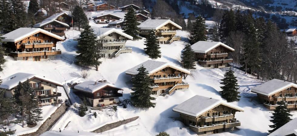 LEEM Wonen gletsjer dorpje Grindelwald