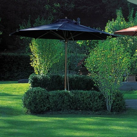 LEEM Wonen outdoor trends Fischer Möbel parasol black