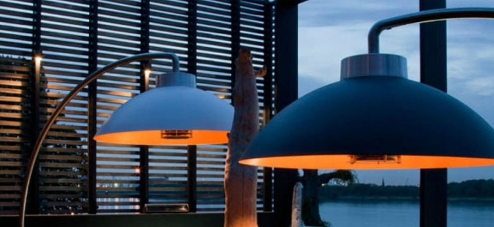 LEEM Wonen terrasheater Dome