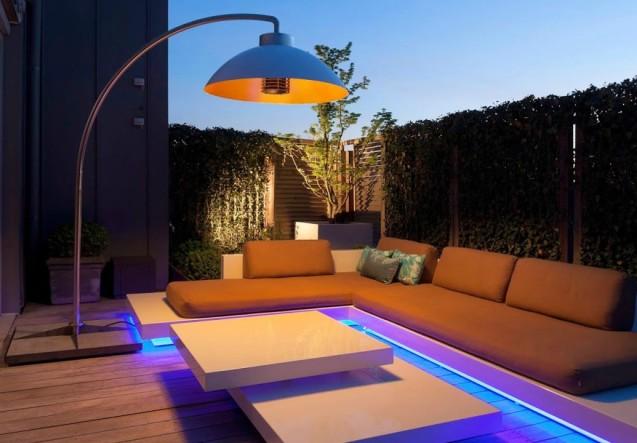 LEEM Wonen terrasheater Dome lounge