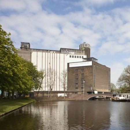 LEEM WONEN De Meelfabriek Leiden oude complex