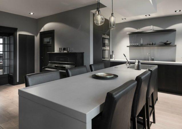 LEEM WONEN Mariska Jagt woonhuis interieur Kralingen keuken