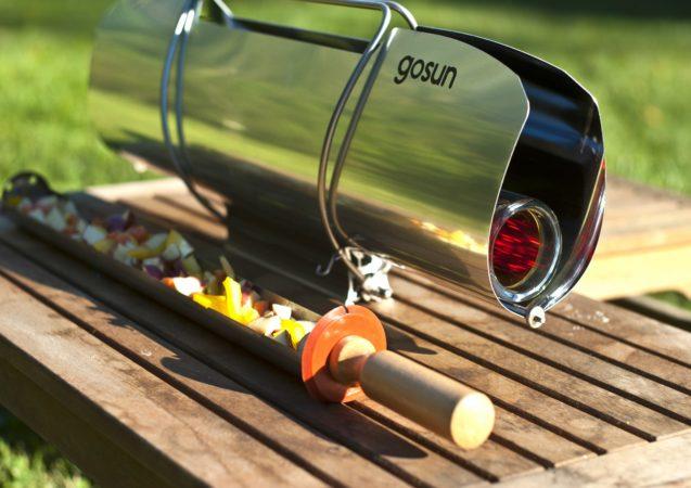 LEEM WONEN barbecue buitenseizoen Go Sun Stove WANT